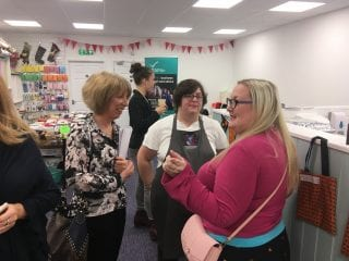 Networking Event at the Patchwork Cat