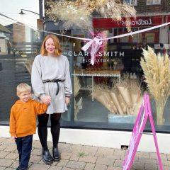 LEAP 2020 Winner Clare Smith opens her Florist shop in Newhaven